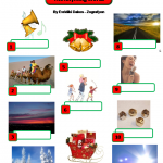 Jingle Bells Activities Rhyming Words4 By Evridiki Dakos